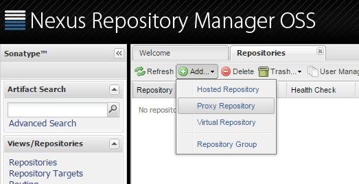 Nexus Repository Manager OSS as Nuget server – Mummy's blog