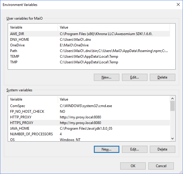 VSTS/TFS Agents behind a proxy – Mummy's blog